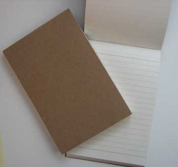 Leather Reporter Notepad REFILL - Set of 2 (Other book format)