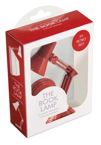 The Book Lamp - Retro Red (Other printed item)