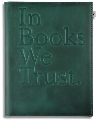 Green 'In Books We Trust' Cover for Kindle, Kindle Paperwhite & Kindle Touch (General merchandise)