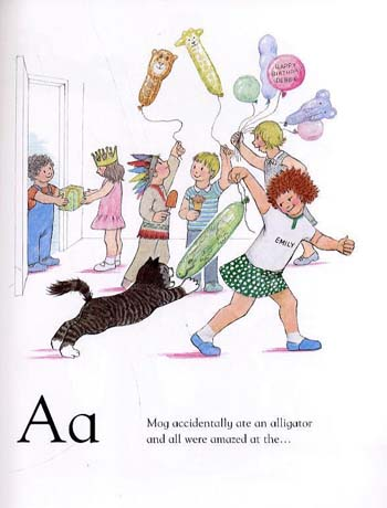Mog's Amazing Birthday Caper: ABC (Paperback)