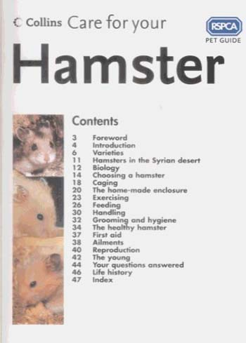 Care for Your Hamster - RSPCA Pet Guide (Paperback)