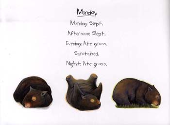 Diary of a Wombat (Paperback)