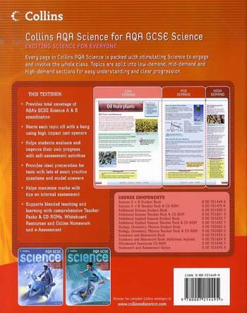 GCSE Science for AQA: Science Student Book - GCSE Science for AQA (Paperback)