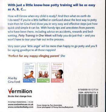Potty Training In One Week (Paperback)