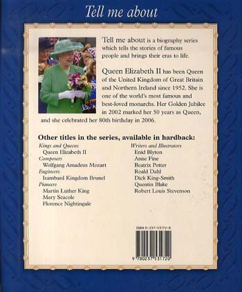 Queen Elizabeth II - Tell Me About (Paperback)