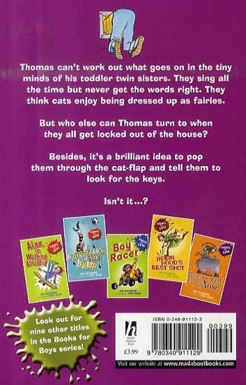Through the Cat-Flap - Books for Boys No. 8 (Paperback)