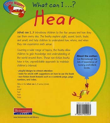 Hear - Little Nippers: What Can I ...? (Paperback)