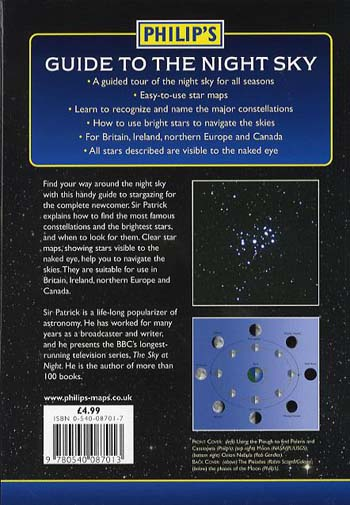 Philip's Guide to the Night Sky: A Guided Tour of the Stars and Constellations (Paperback)