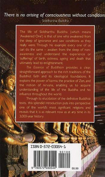 The Essence of Buddhism: An Illuminated Insight into One of the World's Major Religions (Paperback)