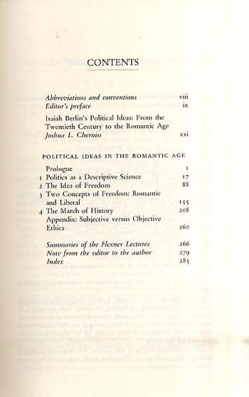 Political Ideas in the Romantic Age (Hardback)