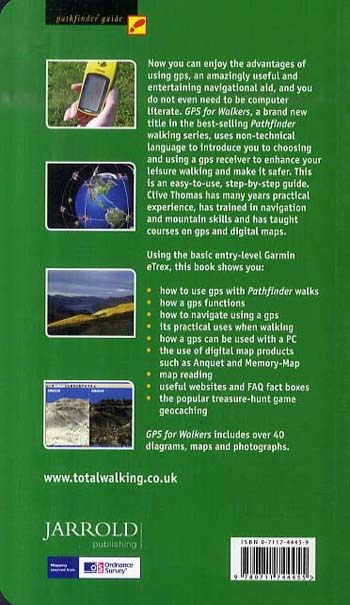 Pathfinder GPS for Walkers: An Introduction to GPS, Digital Maps and Geocaching - Pathfinder Guide (Paperback)