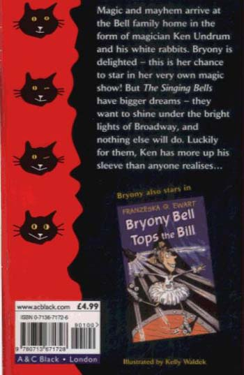 Under the Spell of Bryony Bell - Black Cats (Paperback)