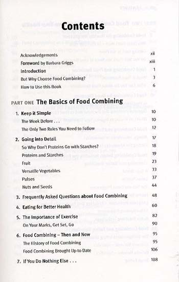 The Complete Book of Food Combining: A New, Easy-to-Use Guide to the Most Successful Diet Ever (Paperback)