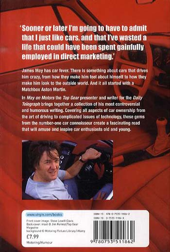 May on Motors: On the Road with James May (Paperback)