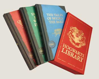 The Hogwarts Library Boxed Set Including Fantastic Beasts & Where to Find Them (Multiple copy pack)