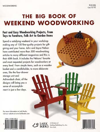 The Big Book of Weekend Woodworking (Paperback)