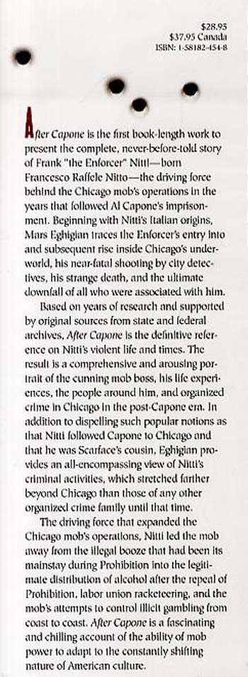 "After Capone: The Life and World of Chicago Mob Boss Frank ""The Enforcer"" Nitti (Hardback)"