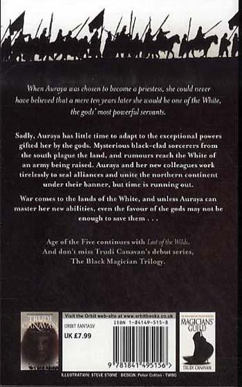 Priestess of the White - The Age of the Five 1 (Paperback)