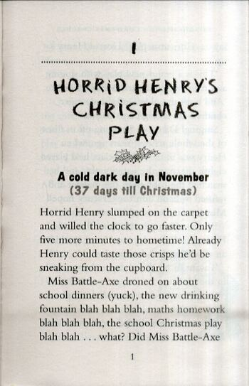 Horrid Henry's Christmas Cracker - Horrid Henry 15 (Paperback)