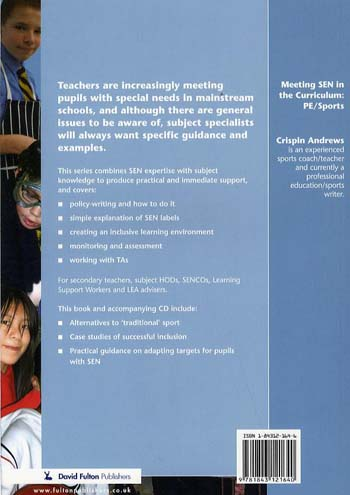 Meeting SEN in the Curriculum: PE and Sports - Addressing Send in the Curriculum (Hardback)
