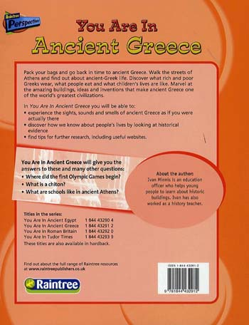 Ancient Greece - Raintree Perspectives: You are There! (Paperback)