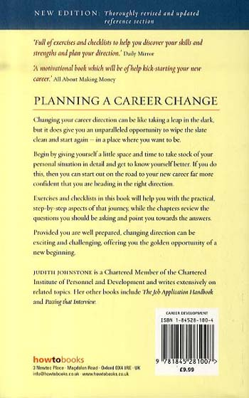 Planning a Career Change: How to Rethink Your Way to a Better Working Life (Paperback)