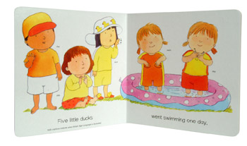 Five Little Ducks: BSL (British Sign Language) - Hands on Songs (Board book)