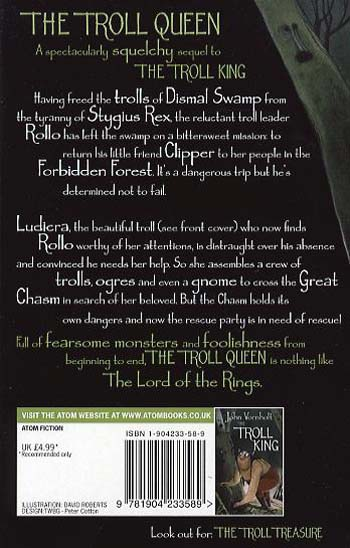 The Troll Queen - The Troll King Trilogy 2 (Paperback)