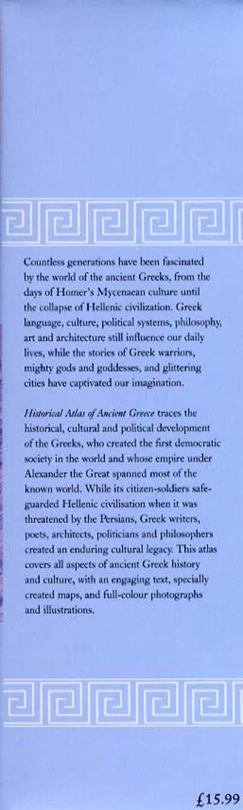 Historical Atlas of Ancient Greece (Hardback)